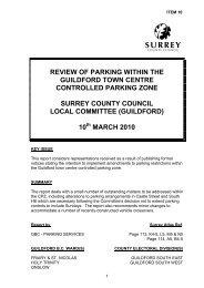 guildford - Surrey County Council