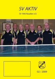 SV AKTIV - Freizeitsport - SV Rosellen