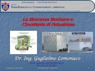presentazione del Dott. Ing. Guglielmo Lomonaco