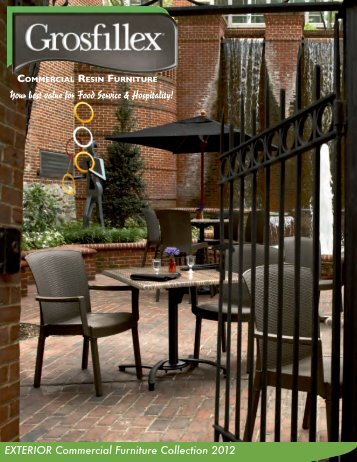 EXTERIOR Commercial Furniture Collection ... - RTI Hotel Supply