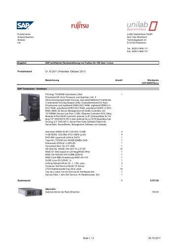 100 User / Linux - unilab