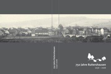 750 Jahre Ruttershausen