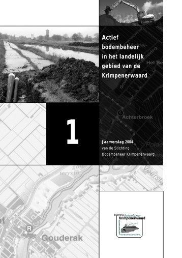 Jaarverslag 2004 - SBK-Krimpenerwaard.nl