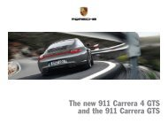 The new 911 Carrera 4 GTS and the 911 Carrera GTS
