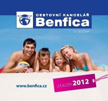 online zajezdy.cz - BENFICA - cestovní kancelář