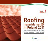 Roofing materials market in Poland 2011 ... - PMR Publications