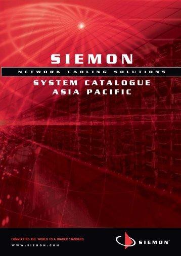 System Catalog 2008 - Siemon