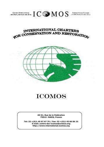 ICOMOS - Network of Concerned Historians