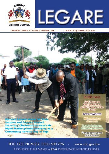 In this Issue - Central District Council