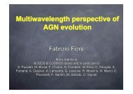 Multiwavelength perspective of AGN evolution - Inaf