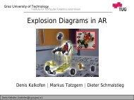 Folie 1 - Studierstube Augmented Reality Project - Graz University of ...