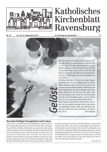 Kirchenblatt 37/2013 - Katholische Gesamtkirchengemeinde ...