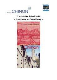 2 circuits labellisés « tourisme et handicap » - Chinon