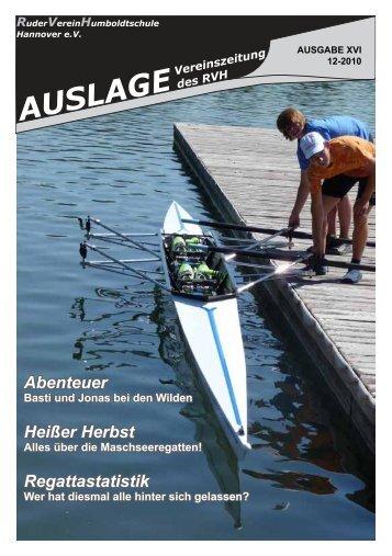 Auslage 03 2010 - RuderVerein Humboldtschule Hannover eV