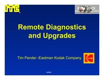 Remote Diagnostics and Upgrades - Board Test Workshop Home ...