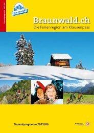 Braunwald.ch - Text ARTelier & Medienbüro