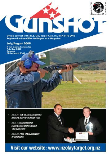 Visit our website - New Zealand Clay Target Association