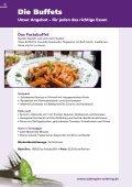 Partyservice- und Catering-Prospekt - Aubergine & Zucchini - Seite 4