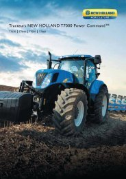 Tracteurs NEW HOLLAND T7000 Power Command™