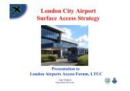 London City Airport Surface Access Strategy