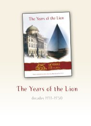 The Years of the Lion