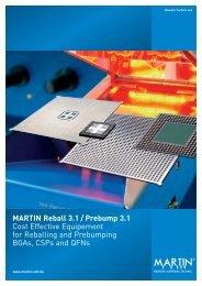 MARTIN Reball 3.1 / Prebump 3.1 Cost Effective ... - Pcb Technologies