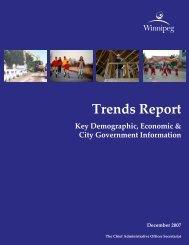 Trends Report - City of Winnipeg