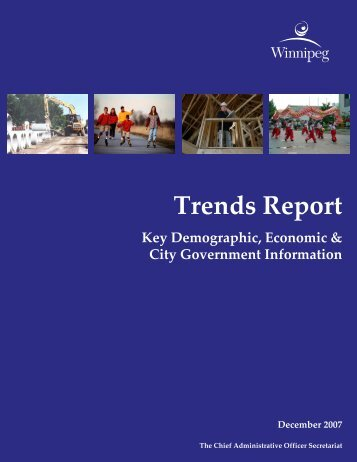 Trends Report - City of Winnipeg