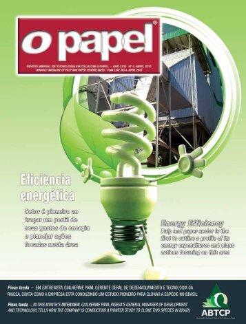 Eficiência Energética - Revista O Papel