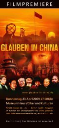 FIlMpREMIERE - China Zentrum eV