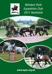 WPEC 2011 Complete - Windsor Park Equestrian Club