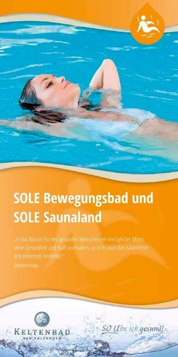 SOLE Bewegungsbad und SOLE Saunaland - Keltenbad Bad ...