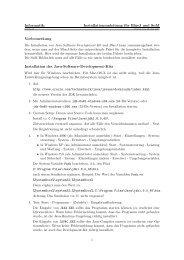 Informatik: Installationsanleitung für BlueJ und SuM Installation des ...