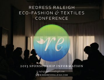 Download the Sponsorship Packet - Redress Raleigh