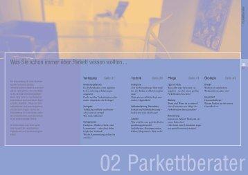 Trumpf Parkett 9 free magazines from trumpfparkett