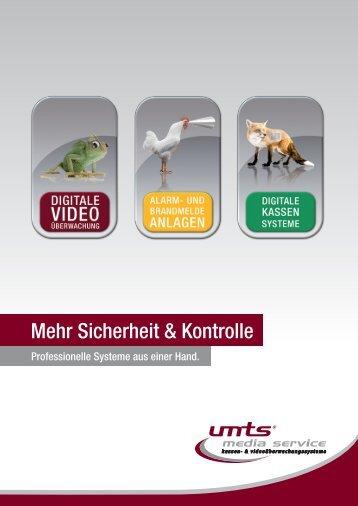 image booklet - UMTS Media Service