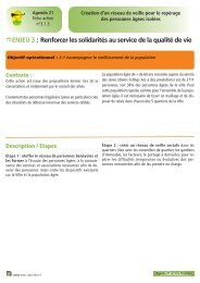 Fiche action n° 10 Création d'un réseau de veille pour le repérage ...