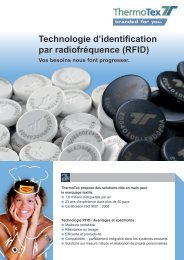 Systèmes RFID - ThermoTex