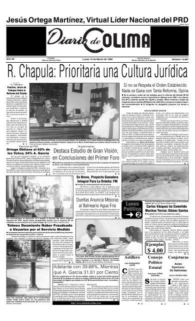 Sabãƒâas Que Universidad De Colima