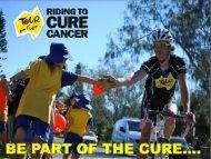 Tour de Cure Corporate Partner Presentation document.
