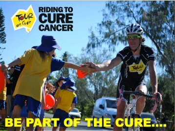 Tour de Cure Corporate Partner Presentation document.