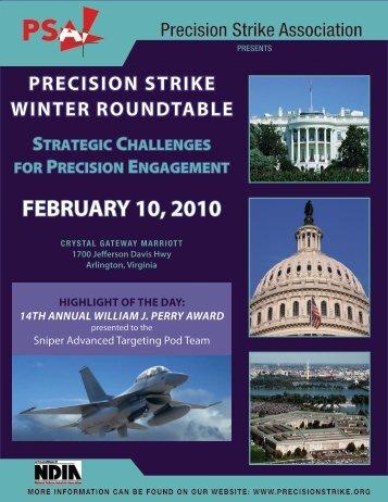 FEBRUARY 10, 2010 - Precision Strike Association