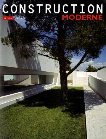 Construction Moderne / Mai 2010 - Atelier Boudry