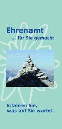 Ehrenamt im DAV - Wir brauchen DICH - Alpenverein Bayreuth