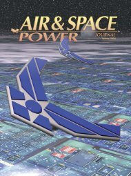 Air and Space Power Journal - Air & Space Power Chronicles