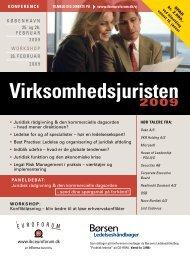 Virksomhedsjuristen - IBC Euroforum