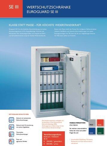 Wertschutzschrank SE III - Faust-Tresor