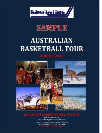 AUSTRALIAN BASKETBALL TOUR - Global Sports Academy