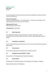 Justerat protokoll fört vid sammanträde - Svenska Kennelklubben