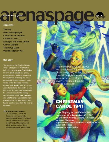 Christmas Carol 1941 - Arena Stage